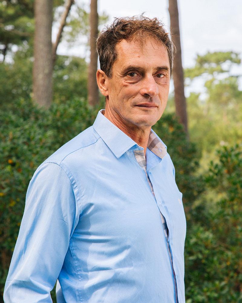 Philippe Descacq - Portrait - Ostéopathe à Hossegor